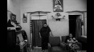 Anglo-indios en Bow Barracks. Arindam Mukherjee.