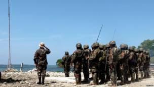 फिलीपींस, सैनिक