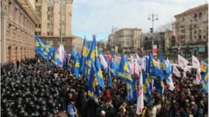 Сутички під Київрадою