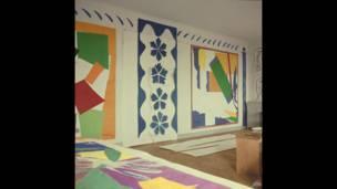 मतीस के कटआउटों पर लंदन की टेट मॉडर्न गैलरी में प्रदर्शनी
