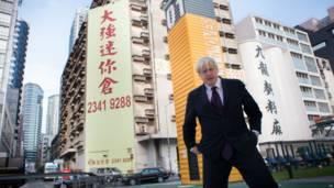 圖輯:倫敦市長約翰遜訪問香港