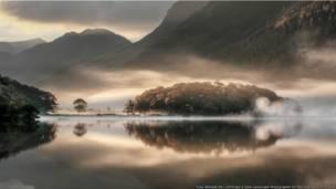 شمال مشرقی انگلستان میں واقع کرمبیا جھیل
