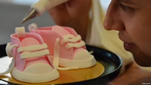 Tortas con forma de zapatos