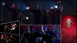 O mais recente projeto do premiado grupo 'Boy Blue Entertainment' é inspirado no mangá e mistura hip-hop com artes marciais