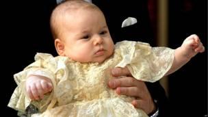 प्रिंस जार्ज, बपतिस्मा संस्कार, लंदन, शाही समारोह