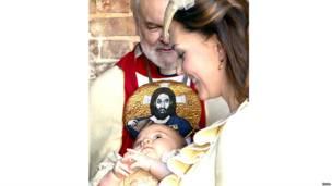 एडवर्ड अष्टम, बपतिस्मा संस्कार, लंदन, शाही समारोह