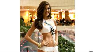मिस यूनिवर्स 2013, सौंदर्य प्रतियोगिता, मास्को, रूस, नवंबर,मिस वेनेज़ुएला मारिया गैब्रिलया