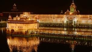 स्वर्ण मंदिर, अमृतसर, दिवाली