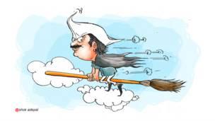 राजनीतिक कार्टून, अरविंद केजरीवाल