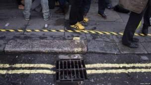 पीली रेखाँ