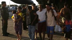Korban selamat Topan Haiyan