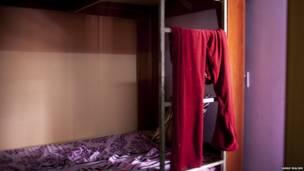 تختوابی در خانه امن زنان. عکس از سارا مالیان