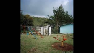 मैक्सिको के एक स्कूल का किंडरगार्टेन