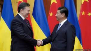 Янукович, визит в Китай