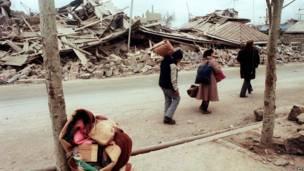 Беженцы в Спитаке