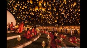 جشنواره ای پنگ، تایلند، عکس از جاستین نگ