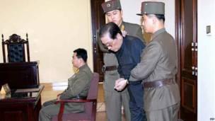 Chang Song-thaek en tribunales