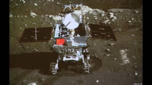 चंद्रमा पर चीन का रोवर