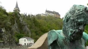 Замок Вианден в Люксембурге