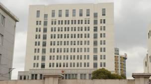Tòa nhà 12 tầng bị cáo buộc là trụ sở của một đội quân xâm nhập mạng của Trung Quốc