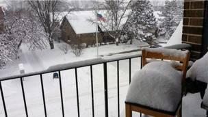 US snowstorm