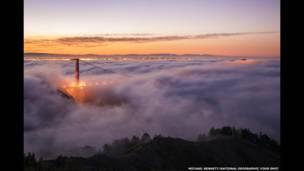 Puente Golden Gate, San Francisco, de Michael Bennet.