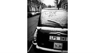 लंदन, सर्दी, टैक्सी