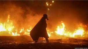 कीव, यूक्रेन, हिंसा