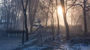 Утро на Майдане