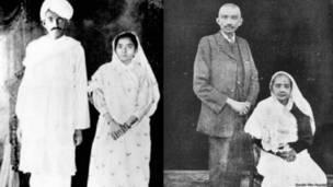 महात्मा गांधी, कस्तूरबा गांधी