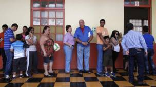 Elecciones en Costa Rica