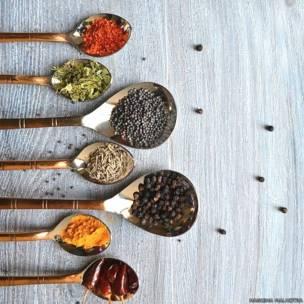भारत में किचन, मसाले