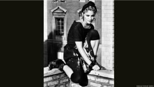 Madonna by Kate Simon 1983 (printed 2013) Collection of the artist © Kate Simon