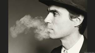 David Byrne by Marcia Resnick 1981. National Portrait Gallery, Smithsonian Institution © Marcia Resnick