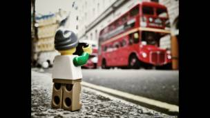 Autobus rojo en Londres. Andrew Whyte/Cater News Agency