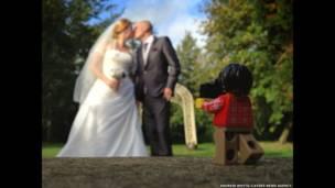 Fotos de boda. Andrew Whyte/Cater News Agency