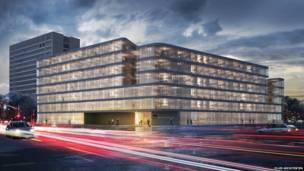 Escritórios e arquitetos apresentam conceitos e projetos ainda não terminados ou construídos