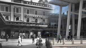 लंदन ब्रिज स्टेशन