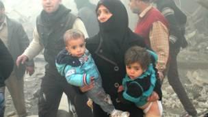 Anak-anak di Aleppo