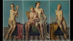Exposição na Neue Galerie apresenta obras-primas do modernismo ridicularizadas na Alemanha dos anos 1930.