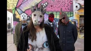 Colectivo Jellyfish es una colaboración de cuatro artistas en Ciudad Juárez