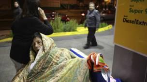 Residente de Antofagasta. Foto. Reuters