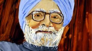 मनमोहन सिंह की तस्वीर