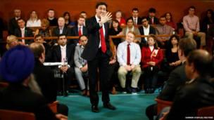 ब्रिटेन के लेबर पा्र्टी के नेता एड मिलीबैंड