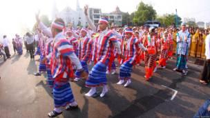 Water Festival in Burma