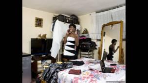 دافنه ۱۹ ساله از هائیتی