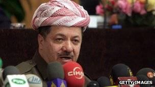 إقليم كردستان العراق: تسلسل زمني 140424181846__70032457_kurdistan_barzani_g