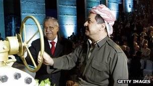 إقليم كردستان العراق: تسلسل زمني 140424181918__70032463_kurdistan_oil_ceremony_g