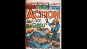 Mostra reúne contribuições do Reino Unido para o mundo dos quadrinhos.