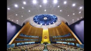Majelis Umum PBB New York, 2008, oleh Luca Zanier